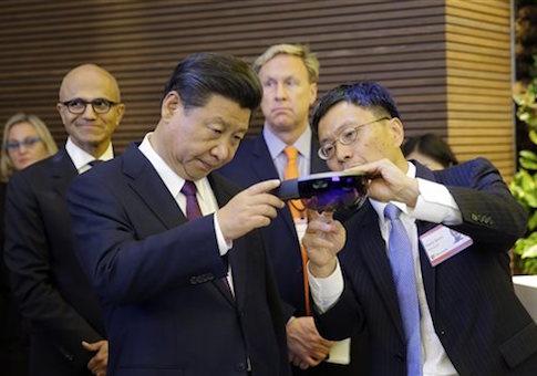 Xi Jinping, Harry Shum