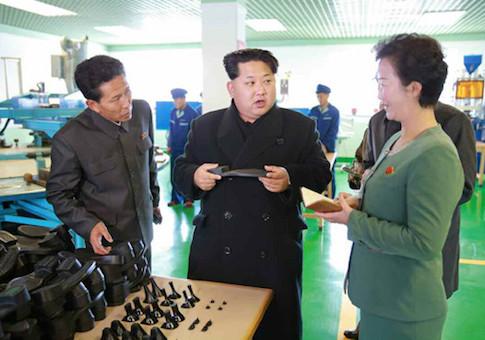 Kim Jon Un in Wonson