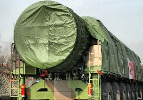Photo of China's DF-41 ICBM