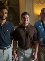 Airman 1st Class Spencer Stone (right), Aleksander Skarlatos and Anthony Sadler / AP
