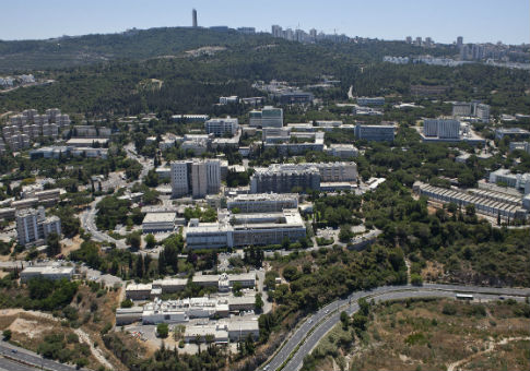 The campus of the Technion on Mount Carmel, Haifa / Wikimedia Commons