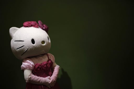 The federal government spent $5,000 on studying Hello Kitty, pictured. / AP