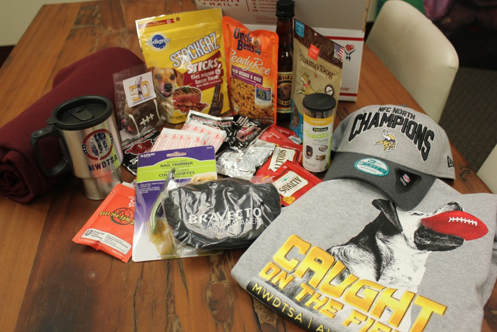 Picture of Care Package Contents
