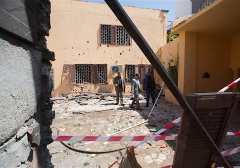 ISIS Libya bomb