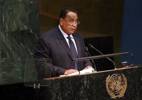 Sudan's Foreign Minister Ibrahim Ghandour