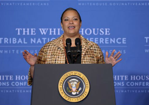 Lisa Jackson, the former head of the EPA / AP
