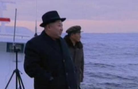 "Kim provides ""field guidance"" / screen capture"