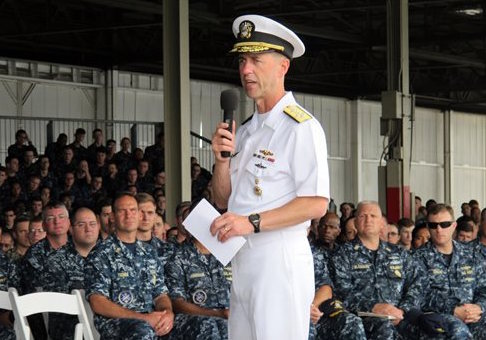 Navy Adm. John Richardson / AP