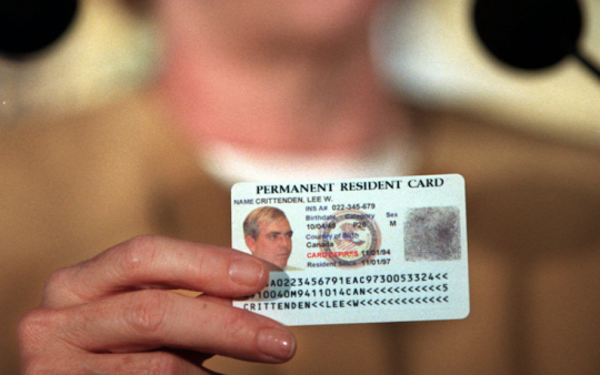 Permanent resident card / AP