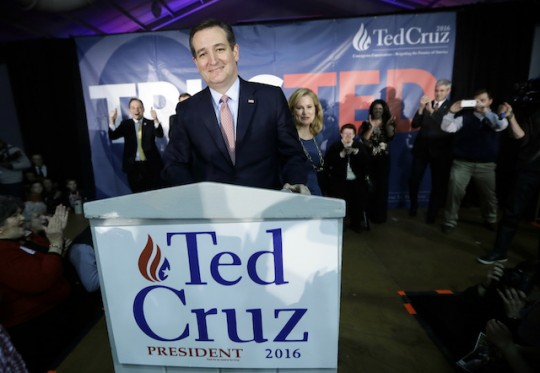 Noted figure of the Establishment, Ted Cruz (AP)