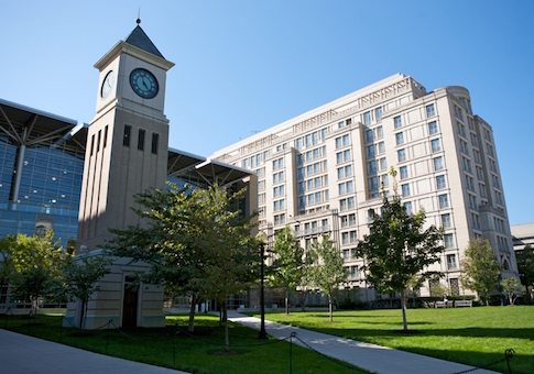 Georgetown Law School campus