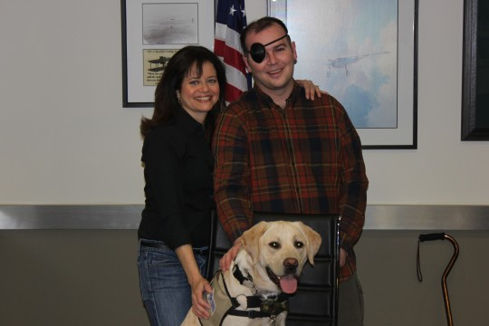 Andrea McCarren and Cpl. Bunce / Stephen Gutowski