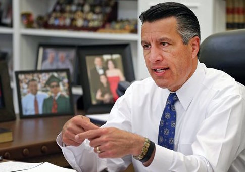 Nevada Gov. Brian Sandoval / AP