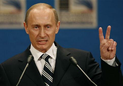 Russian leader Vladimir Putin in Romania / AP