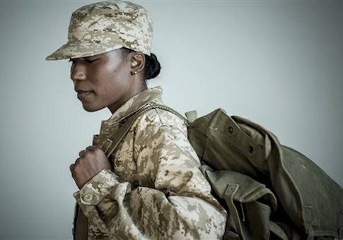 women in combat female soldier