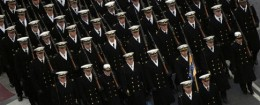 Midshipmen from the U.S. Naval Academy / National Museum of the U.S. Navy