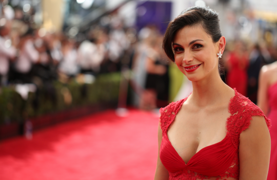 Morena Baccarin, one of Deadpool's many highlights (AP)