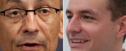 John Podesta (left) and Robby Mook (right) / AP