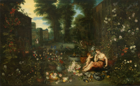 'The Five Senses: Smell' by Jan Brueghel the Younger / Paul G. Allen Family Collection