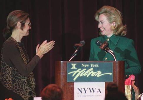 Gloria Steinem Hillary Clinton
