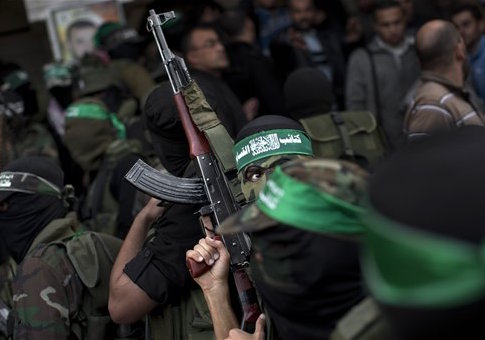 Hamas militants in 2012 / AP