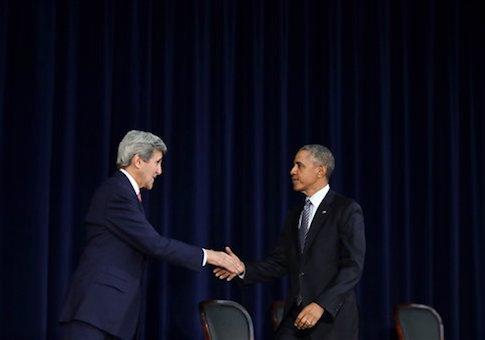 John Kerry Barack Obama