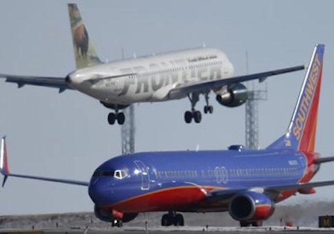 Planes at Denver International Airport / AP