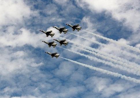 U.S. Air Force Thunderbirds / AP