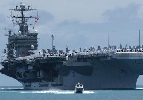 USS John C. Stennis / AP