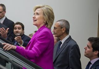 Hillary Clinton and John Podesta / AP