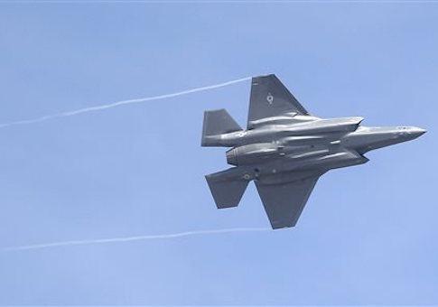 F-35 jet / AP