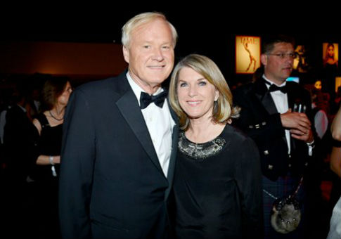 Chris and Kathleen Matthews / AP