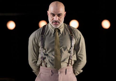 Faran Tahir as Othello in the Shakespeare Theatre Company's production of Othello, directed by Ron Daniels / Scott Suchman