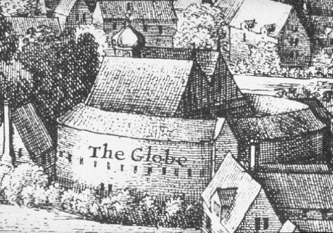 The Globe / Hollar's Long View of London (1642)