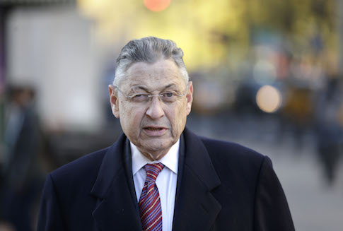 Former New York Assembly Speaker Sheldon Silver / AP
