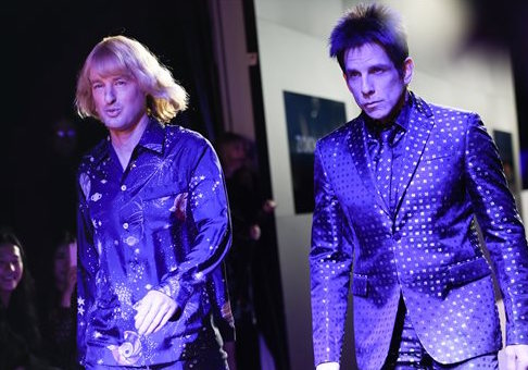 "Actors Owen Wilson and Ben Stiller at the world premiere of ""Zoolander 2"""