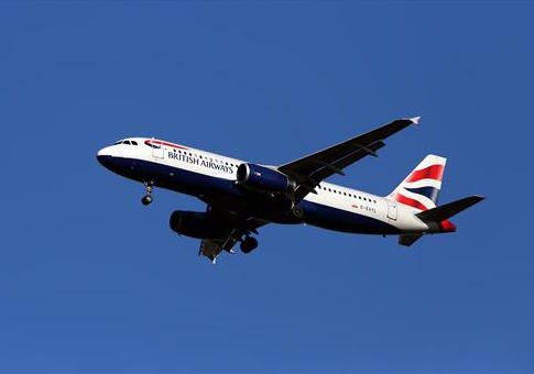A drone hit a British Airways plane Sunday / Press Association via AP images