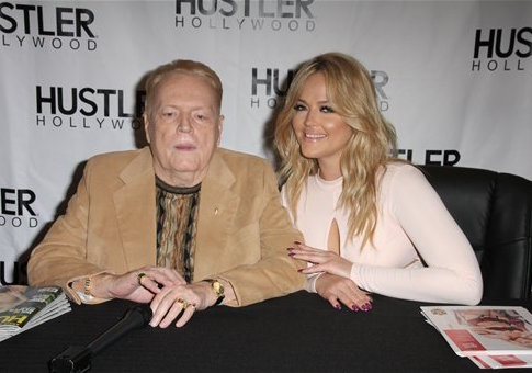Think, that Larry flynt of hustler fame valuable