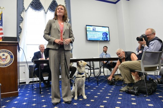 Lauren Lee, Program Manager, Canine Companions for Independence and Knoxville