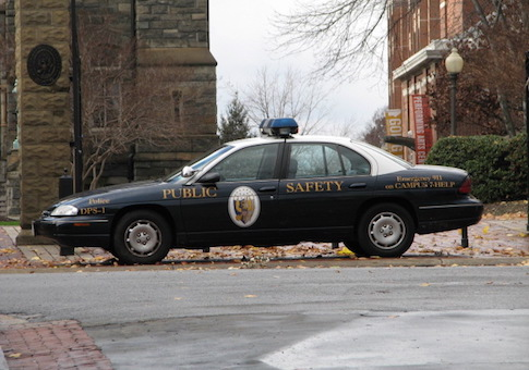 Police car at Georgetown University