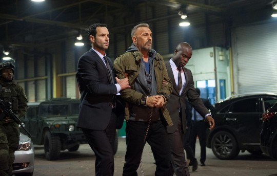 Kevin Costner stars as Jerico in 'Criminal' / Jack English