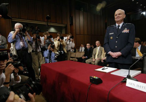 Gen. Michael Hayden in 2006 / AP