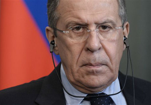 Russian Foreign Minister Sergey Lavrov / AP