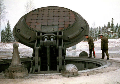 A Russian nuclear missile silo / AP