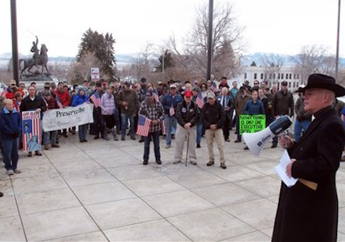Pro-gun rally in Montana