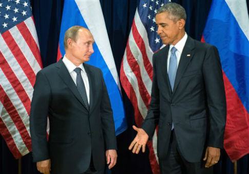 Vladimir Putin and Barack Obama in 2015 / AP