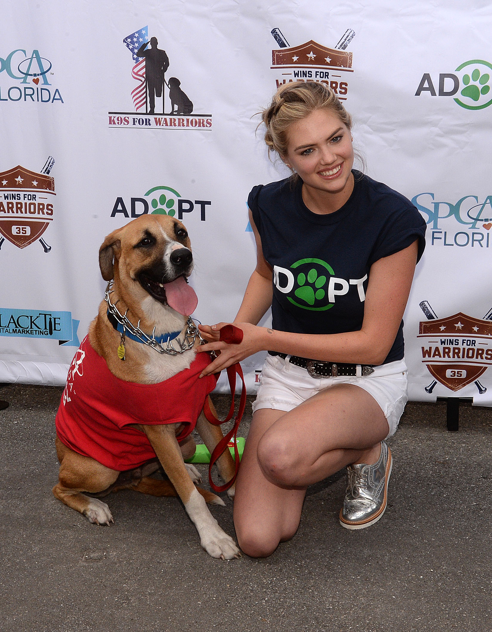 Pictured: Kate Upton at 2nd Annual Grand Slam Adoption Event in Lakeland, FL Ref: SPL1255028 310316 Picture by: Jason Winslow / Splash News Splash News and Pictures Los Angeles:310-821-2666 New York: 212-619-2666 London: 870-934-2666 photodesk@splashnews.com