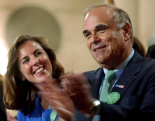 Katie McGinty with Ed Rendell / AP