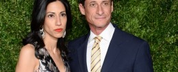 Anthony Weiner and wife Huma Abedin / AP