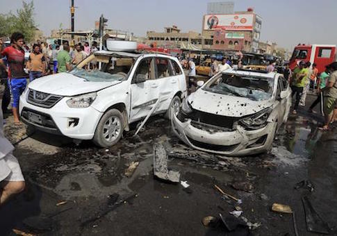 ISIS suicide bombings